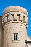 Europe/France/Poitou-Charentes/17/Charente-Maritime/Ile de Ré/Saint-Martin-de-Ré:  Hôtel de Toiras - La Tour Historique ayant appartenu  à la famille des Gabaret, négociants et marins originaires de l'île de Ré.
