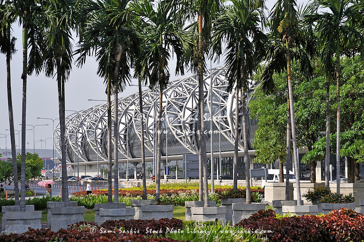 New Bangkok International Airport, also known as Suvarnabhumi International Airport, Bangkok, Thailand