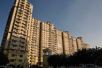 Delhi's new suburb of Gurgaon has risen from farmland on the outskirt of the city. It is one of Delhi's four satellite cities and is the industrial, financial  center of Haryana. Over the past few years, the city has grown tremendously with a mushrooming of shopping malls, swank restaurants and a growing demand for housing., resulting in escalating property prices. Today, skyscrapers and shopping malls dot the city thus fueling a real estate boom. (Photo by Jean-Marc Giboux)