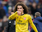 Matteo Guendouzi of Arsenal reflects on the match during the Premier League match at Turf Moor, Burnley. Picture date: 2nd February 2020. Picture credit should read: Andrew Yates/Sportimage