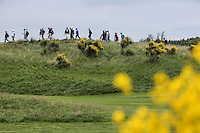 The ridgeline down the 9th during Round Two of the 100th Open de France, played at Le Golf National, Guyancourt, Paris, France. 01/07/2016. Picture: David Lloyd | Golffile.<br /> <br /> All photos usage must carry mandatory copyright credit (&copy; Golffile | David Lloyd)