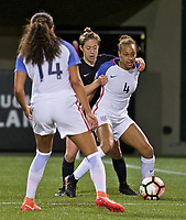 Portland, Oregon - Wednesday March 29, 2017: Portland Thorns FC take on the USWNT U23's during the Spring Invitational pre season tournament at Providence Park.