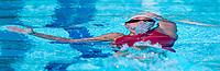 Picture by Alex Whitehead/SWpix.com - 09/04/2018 - Commonwealth Games - Swimming - Optus Aquatics Centre, Gold Coast, Australia - Georgia Davies of Wales competes in the Women's 50m Backstroke heats.