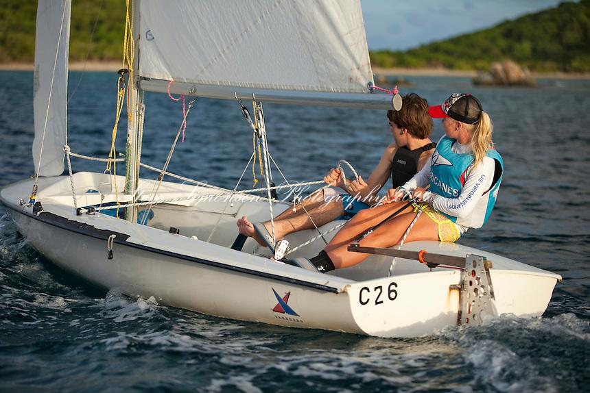 Antilles Hurricanes  Sailing Team.St. Thomas.U.S. Virgin Islands