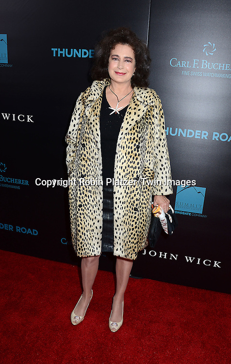 Sean Young attends the Special Screening of &quot;John Wick&quot;  on October 13, 2014 at the Regal Union Square Stadium 14 in New York City.<br /> <br /> photo by Robin Platzer/Twin Images<br />  <br /> phone number 212-935-0770