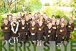 The class of 2008 pictured on their first day at Lissivigeen National School on Monday.   Copyright Kerry's Eye 2008