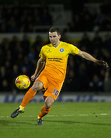 Matt Bloomfield of Wycombe Wanderers during the Sky Bet League 2 rearranged match between Bristol Rovers and Wycombe Wanderers at the Memorial Stadium, Bristol, England on 1 December 2015. Photo by Andy Rowland.