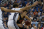 San Diego State forward       against Nevada during the first half of a basketball game played at Lawlor Events Center in Reno, Nev., Saturday, Feb. 29, 2020. (AP Photo/Tom R. Smedes)