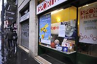 - Milano, sede dell'associazione ONLUS L'Altropallone per uno sport equo e solidale in via Venini; il locale apparteneva ad Aldo Tempera, capo di una organizzazione per prestiti ad usura, ed &eacute; stato sequestrato, insieme ad altri 74 immobili, in base alla legge Rognoni-Latorre 109/96 per la confisca dei beni alla criminalit&agrave; organizzata<br /> <br /> - Milan, the base of non-profit association L'Altropallone for a fair sports in  Venini street, the place was owned by Aldo Tempera, head of an organization addicted to usury, and  was seized, with 74 other properties under the law Rognoni- Latorre 109/96 for the confiscation of properties to organized crime