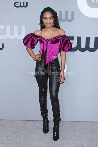 NEW YORK, NY May 17, 2018: China Anne McClain attend CW Upfront 2018 at the London Hotel in New York. May 17, 2018 Credit:/RW/MediaPunch