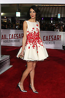Amal Clooney<br /> at the &quot;Hail, Caesar&quot; World Premiere, Village Theater, Westwood, CA 02-01-16<br /> David Edwards/DailyCeleb.com 818-249-4998