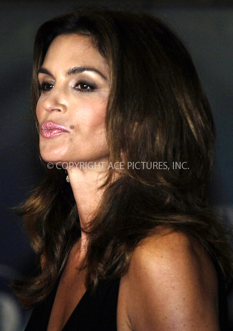 WWW.ACEPIXS.COM . . . . .  ..... . . . . US SALES ONLY . . . . .....Cindy Crawford at Fantastic Mr Fox premiere on the opening night of The Times BFI London Film Festival - 14 October 2009  in London....Please byline: FAMOUS-ACE PICTURES... . . . .  ....Ace Pictures, Inc:  ..tel: (212) 243 8787 or (646) 769 0430..e-mail: info@acepixs.com..web: http://www.acepixs.com