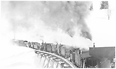 Five RGS locomotives pushing rotary #2.<br /> RGS  Butterfly, CO
