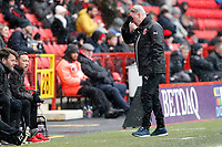 during the Sky Bet League 1 match between Charlton Athletic and Fleetwood Town at The Valley, London, England on 17 March 2018. Photo by Carlton Myrie.
