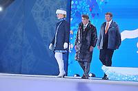 OLYMPICS: SOCHI: Medal Plaza, 09-02-2014, medaille uitreiking, ©foto Martin de Jong