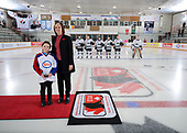 WINKLER, MB - Nov 7 2019: Ontario Red vs. Saskatchewan during the 2019 National Women's Under 18 Championship at the Centennial Arena in Winkler, Manitoba, Canada. (Photo by Matthew Murnaghan/Hockey Canada Images)