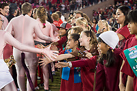 STANFORD, CA -- November 18, 2017. <br /> Stanford Cardinal Football defeats the California Golden Bears 17-14 in the Big Game at Stanford Stadium.
