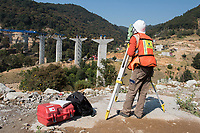 Puente 3 (Bridge #3) Freyssinet construction and engineering projects in the Estado de Mexico, Mexico