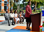 MIAMI GARDENS, FL - MAY 12: Cynthia W. Curry, Chairman Charles W. George, Trustee JoLinda Herring, Dr. Roslyn Clark Artis-President of Florida Memorial University, Miami- Dade County Commissioner Barbara J. Jordan and City of Miami Gardens Oliver G. Gilbert III attends the Opening of  Florida Memorial University's  Multi-Purpose Arena and Wellness Education Center and the Launch of their Health Matters Movement at Florida Memorial University on Thursday May 12, 2016 in Miami Gardens, Florida.  ( Photo by Johnny Louis / jlnphotography.com )