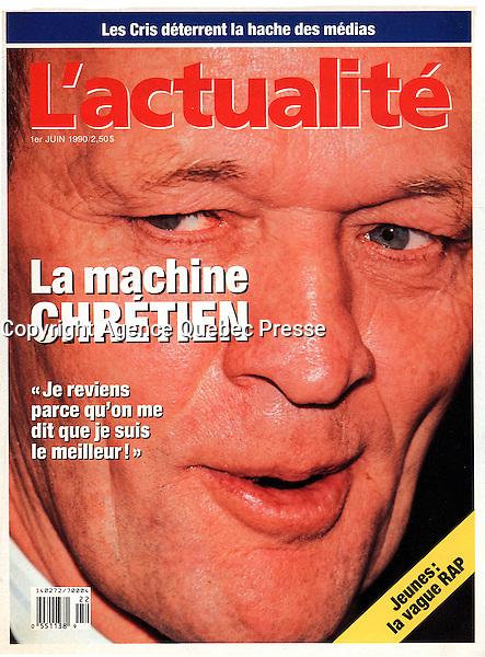 Publication en couverture de l'actualite<br /> <br /> Photo : Pierre Roussel