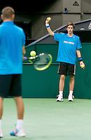11-02-14, Netherlands,Rotterdam,Ahoy, ABNAMROWTT, Mikhail Youzhny(RUS)<br /> Photo:Tennisimages/Henk Koster