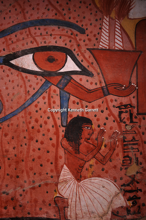Zahi Hawass Secret Egypt Travel Guide; Egypt; archaeology; Luxor; West Bank; El Qurna; Deir El Medina; tombs of the workers; Tomb of Pashedu, TT 3, New Kingdom, Pashed, Servant in the Place of Truth, Seti I, artisan, Spell 137, Osisris