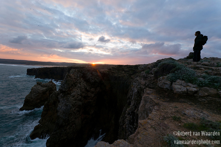 Sunrise at Bordeira in the Southwest of Portugal