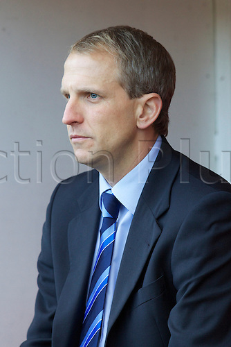 06.11.2010 FA Cup 1st Round Darlington v Bristol Rovers. Bristol Rovers manager Paul Trollope