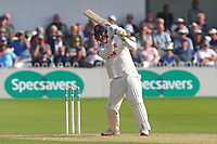 Daniel Lawrence hits the winning runs for Essex during Yorkshire CCC vs Essex CCC, Specsavers County Championship Division 1 Cricket at Scarborough CC, North Marine Road on 7th August 2017