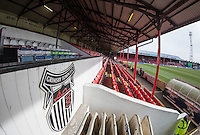 General view of the Stadium ahead of the Sky Bet League 2 match between Grimsby Town and Wycombe Wanderers at Blundell Park, Cleethorpes, England on 4 March 2017. Photo by Andy Rowland / PRiME Media Images.