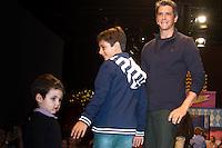 SÃO PAULO,SP,28.03.2015- FASHION WEEKEND KIDS -O ator,Marcio Garcia durante o desfile da marca VRK.Shopping Cidade Jardim,região sul da cidade de São Paulo na noite desse sábado,28.(FOTO:KEVIN DAVID/BRAZIL PHOTO PRESS).