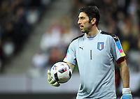 FUSSBALL INTERNATIONAL TESTSPIEL IN DER ALLIANZ ARENA MUENCHEN Deutschland - Italien    29.03.2016  Torwart Gianluigi Buffon (Italien)