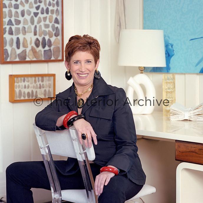 Portrait of interior designer Beth Rudin Dewoody
