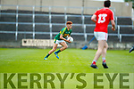 Niall Donohue Kerry in action against  Louth in the All Ireland Minor Football Quarter Finals at O'Moore Park, Portlaoise on Saturday.