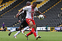 Darius Charles of Stevenage shoots wide<br />  - Notts County v Stevenage - Sky Bet League One - Meadow Lane, Nottingham - 24th August 2013<br /> © Kevin Coleman 2013