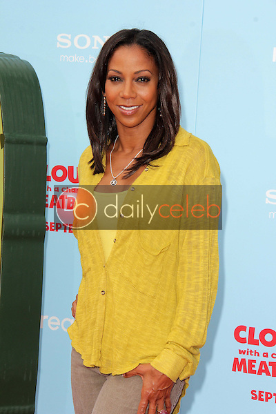 """Holly Robinson Peete<br /> at the """"Cloudy With A Chance of Meatballs 2"""" Los Angeles Premiere, Village Theater, Westwood, CA 09-21-13<br /> David Edwards/Dailyceleb.com 818-249-4998"""