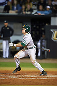 Siena Saints second baseman Jordan Bishop (4) during a game against the UCF Knights on February 17, 2017 at UCF Baseball Complex in Orlando, Florida.  UCF defeated Siena 17-6.  (Mike Janes/Four Seam Images)