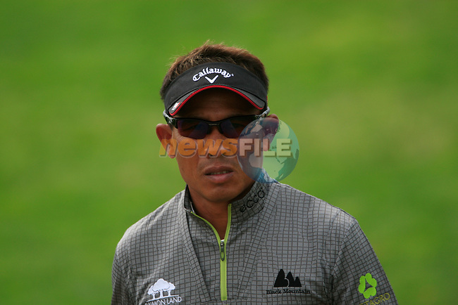 Thongchai Jaidee walks up to the 11th tee during Thusday Day 1 of the Abu Dhabi HSBC Golf Championship, 20th January 2011..(Picture Eoin Clarke/www.golffile.ie)