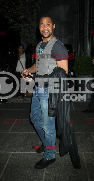 April 19, 2012 Cuba Gooding Jr. asiste a la proyección de Warner Bros. Pictures con la cinta  ¨The Lucky One¨ en el Hotel Crosby Street en Nueva York.(*Foto:©RW/Mediapunch/NortePhoto.com*)