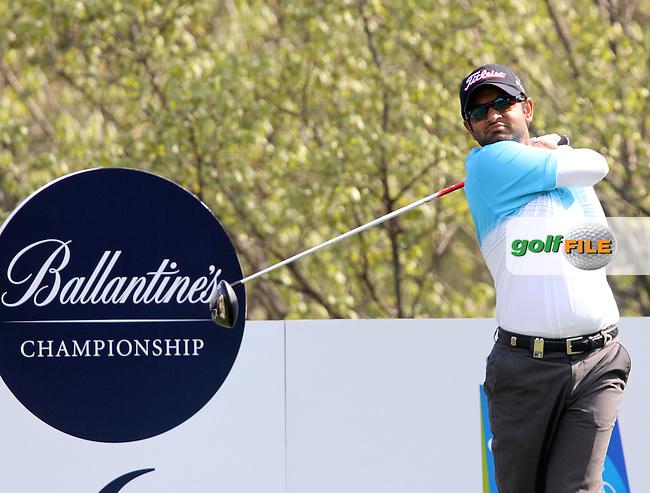 on Day 1 of the Ballantines Championship 2012 at Blackstone Golf Course, Icheon, Korea...(Photo Jenny Matthews/www.golffile.ie)
