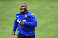 Beno Obano of Bath Rugby looks on. Bath Rugby pre-season S&C session on June 22, 2017 at Farleigh House in Bath, England. Photo by: Patrick Khachfe / Onside Images