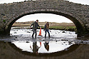 19/01/19<br /> <br /> Brother sister, Dylan Burkey (18) and Alia Burkey (14) find a discarded traffic cone under the bridge at Aberffraw.<br /> <br /> Volunteers clean beaches near Cable Bay Anglesey to mark the RSPCA's 'PlastOff2019'<br /> <br /> All Rights Reserved, F Stop Press Ltd +44 (0)7765 242650  www.fstoppress.com rod@fstoppress.com