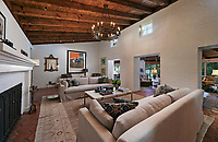 BNPS.co.uk (01202 558833)<br /> Pic: JimBartsch/DouglasElliman<br /> <br /> Goddesses and Monsters - Hacienda Style home from the halcyon days of Hollywood for sale.<br /> <br /> The enchanting former Beverly Hills home of both film icon Katharine Hepburn, and screen monster Boris Karloff has emerged on the market for £7million. ($8,95m)<br /> <br /> The four-time Oscar winning starlet lived at the 'hacienda' home when she first moved to Hollywood in the early 1930s.<br /> <br /> After finding fame, she sold it to Frankenstein actor Boris Karloff in the mid-1940s who bizarrely was a keen gardener and worked extensively on the landscaping.<br /> <br /> Another famous former owner of the single storey, five bedroom Spanish style residence, which has its own swimming pool and bar, is Animals frontman Eric Burdon, whose House of the Rising Sun, help fund its purchase in the 1960's.<br /> <br /> It is being sold with estate agent Douglas Elliman who describe it as 'a home fit for Hollywood royalty'.