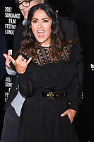 "Salma Hayek<br /> at the premiere of ""Beatriz at Dinner"" as part of Sundance London at the Mayfair Hotel, London. <br /> <br /> <br /> ©Ash Knotek  D3271  01/06/2017"