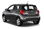 Car pictures of rear three quarter view of a 2019 Chevrolet Spark LS Select Doors Door Hatchback angular rear
