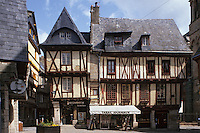Europe/France/Bretagne/56/Morbihan/Vannes: Maisons anciennes place Henri IV