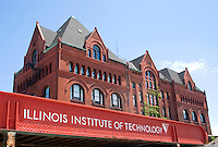 Campus building at the Illinois Institute of Technology.  Chicago Illinois USA
