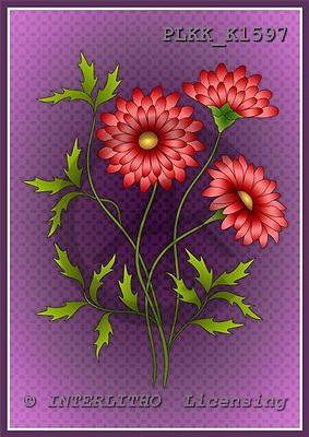Kris, FLOWERS, paintings, PLKKK1597,#f# Blumen, flores, illustrations, pinturas ,everyday
