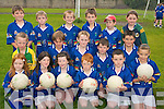 YOUNG STARS: Young football stars from Glenbeigh enjoying the Kerry GAA VHI Cul Camp in Glenbeigh on Thursday last..Front row L/r. Rachel Counihan, Niamh O'Connor, Alva Clifford, Sean Sheahan, Cathal Kelly, Danika O'Grady..Second row L/r. Juliette Sheahan, Dillon Patist, Dara Casey, Oisin O'Connor, Calvin McGillycuddy..Back L/r. Dean McCarthy, Oisin McGillycuddy, Daniel Kelly, Adrian O'Connor, Jason Clifford and Briannna O'Connor.   Copyright Kerry's Eye 2008