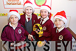 Pupils from Moyderwell Primary School who took part in their Christmas play on Friday were l-r: Luke Pullen, Dearbhla Cronin, Isabelle Moloney Kane and Kelly Ann O'Sullivan.
